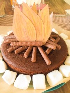 Schokoladenkuchen, Schokokuchen, Schokoladensaurer, Omas Rezept, DDR Rezept, backen, Lagerfeuer, Motivkuchen