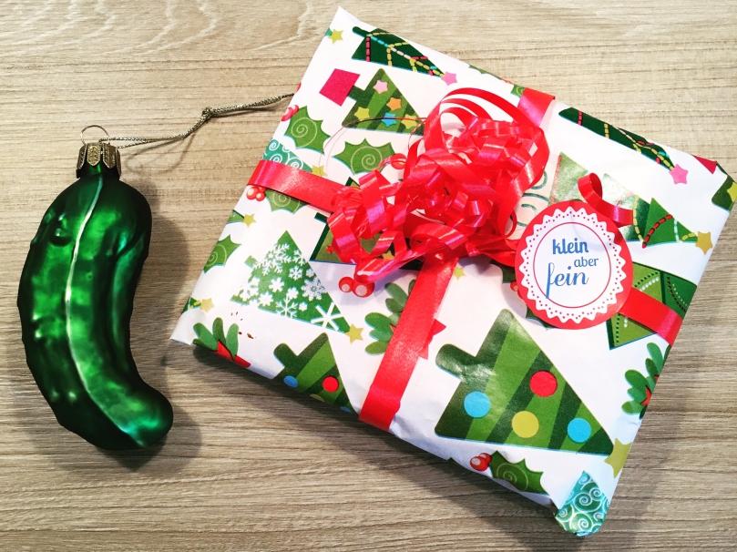 Weihnachtsgurke, Verlosung, Pixibuchhülle