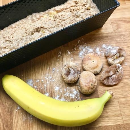 Bananenbrot, vegan, BLW, ohne Zucker