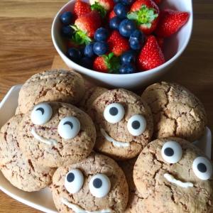 backen, einfach, schnell, Cranberry-Cookies