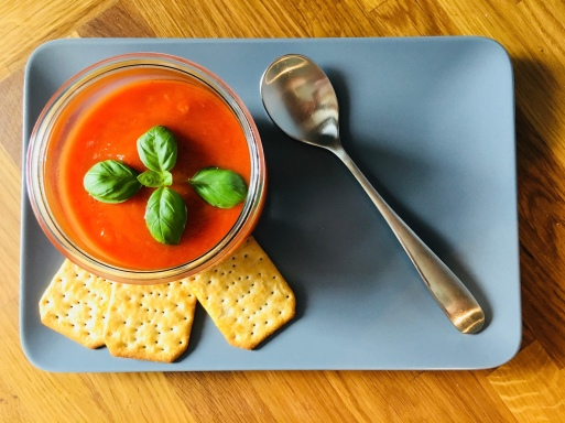 schnell und einfach, Rezepte, Familienrezept, lecker, Thermomix, Tomatensuppe