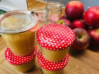 Rezepte, Apfel, Apfelmus, einfach, ohne Zucker