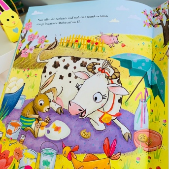 Rezension, Kinderbuch, Ostern, Polly Osterkuh