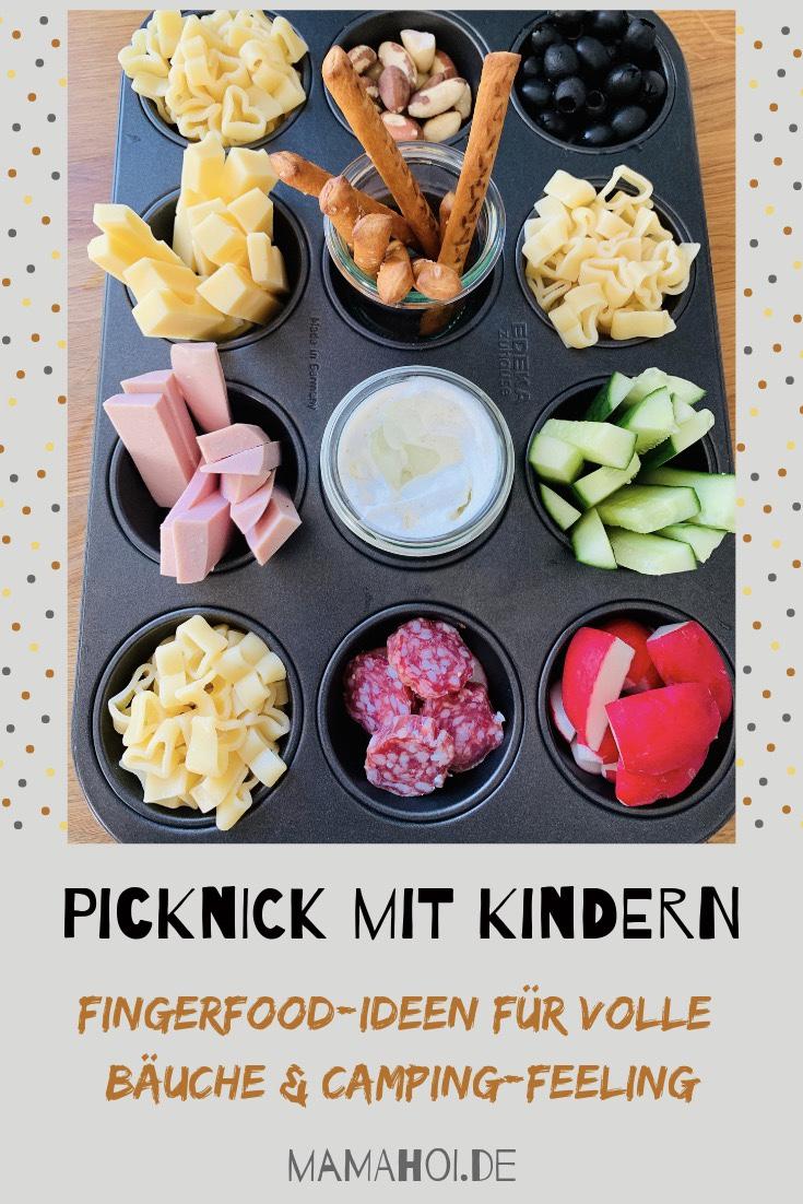 Fingerfood, Kinderessen, Picknick, essen mit Kindern, Foodideen, lecker, Camping