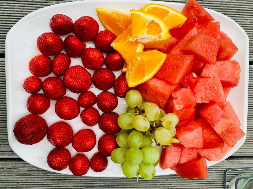 12 von 12, Obstteller, mein Tag,