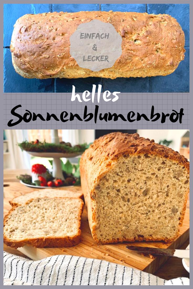 backen, Brot backen, lecker, Rezept, Sonnenblumenbrot, Thermomix