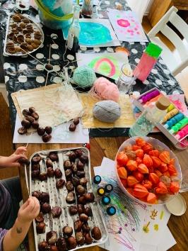 Herbst, Herbstbasteln, basteln mit Kindern, basteln mit Naturmaterialien, DIY,
