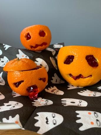 Herbst, Herbstbasteln, basteln mit Kindern, basteln mit Naturmaterialien, DIY, Halloween, Party,
