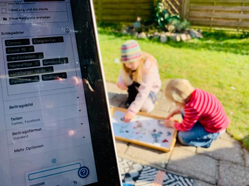 WIB, Wochenende in Bildern, Coronatagebuch, Lüneburg, Familiengedoens,