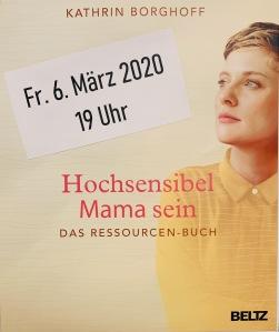 hochsensibel, HSP, Hochsensibilität, hochsensibel Mama sein, Rezension, Kathrin Borghoff,