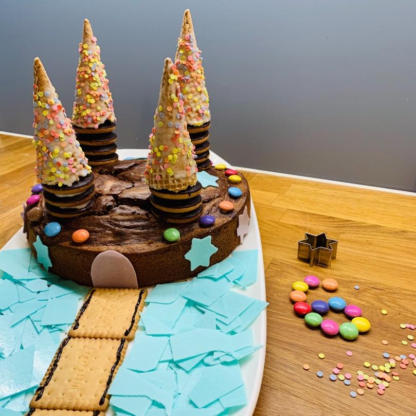 Geburtstagskuchen, Kindergeburtstag, feiern,