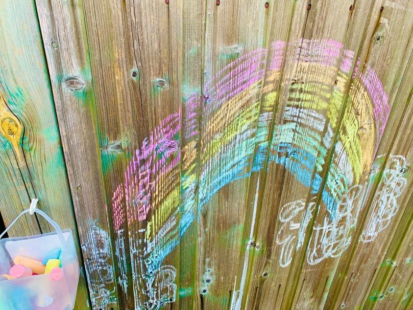 Coronatagebuch, Regenbogen, Regenbogen gegen Corona, Homeoffice mit Kindern, Studium,