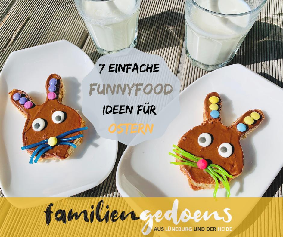 Ostern, Osterbrunch, funnyfood, food art, Essen für Kinder, Kinderessen, Osterhase,