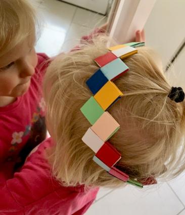 Anleitung, DIY. Geburtstagskrone, upcycling, Kindergeburtstag