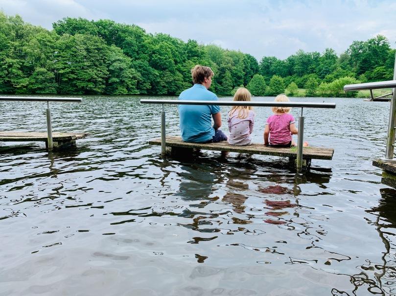 Familienleben in Lüneburg, Lüneburger Heide,, Sommer,