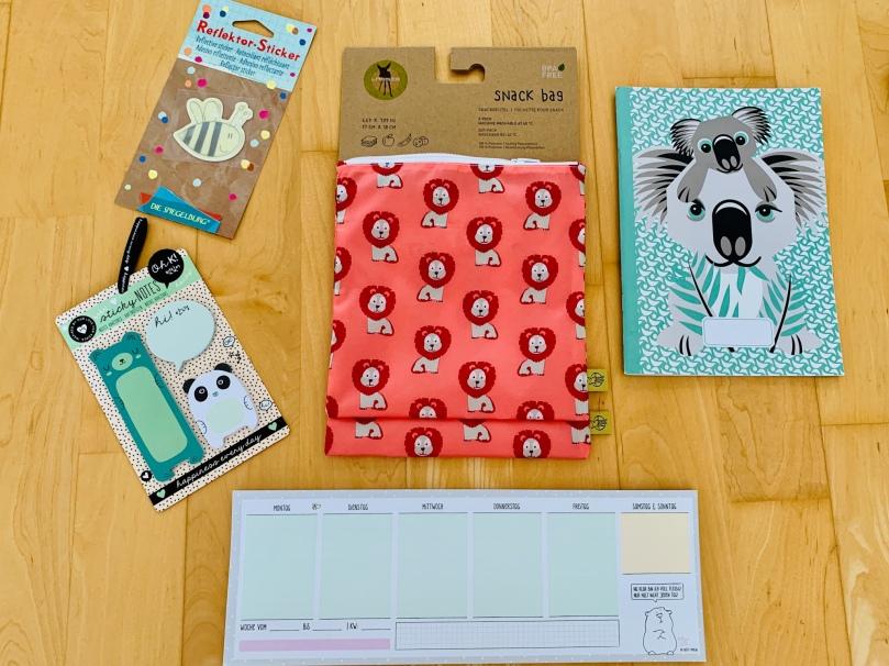 Geschenke, Inhalt Schultüte, Einschulung, Schulbeginn, Schulstart, Schulkind,