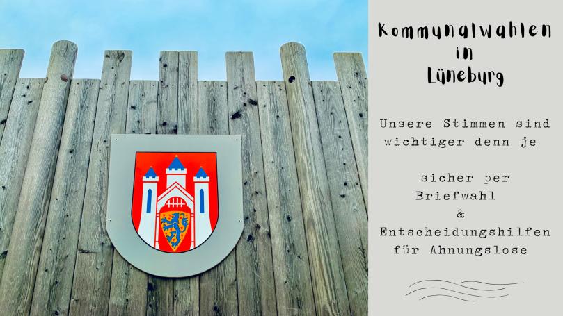 Kommunalwahlen, Lüneburg, wählen, Oberbürgermeister wählen, Briefwahl,